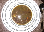Black Bean-Vegetable Soup aka Dirt Soup